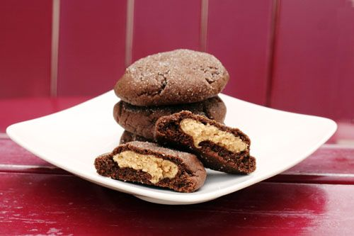 these magic peanut butter middles cookies are totally happening today ...