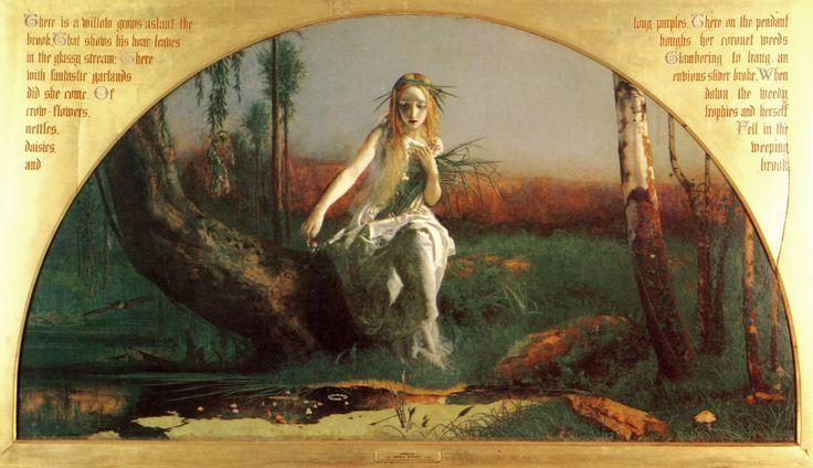 ophelia 1852 arthur hughes - Google Search