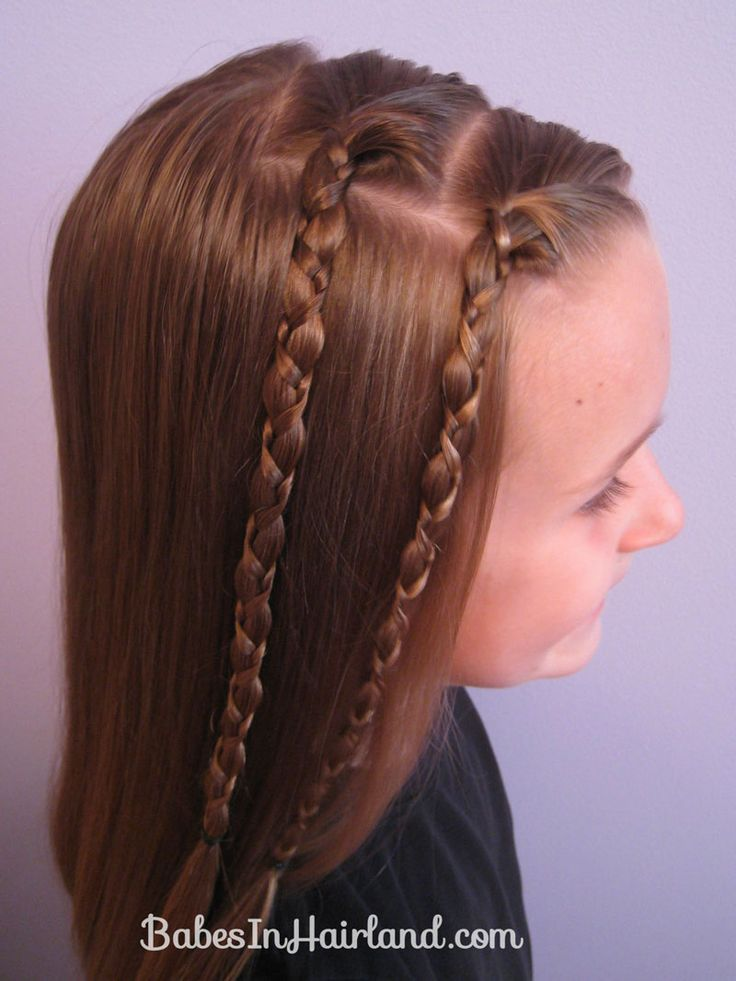 quick braided hairstyles : Quick & Easy Uneven Braids Hairstyle (3) Alexandra Pinterest