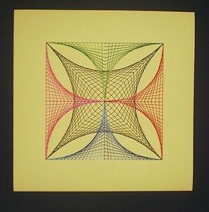 Parabolic Line Design Original-Handmade-Para...