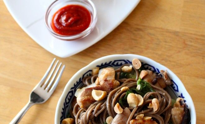 Miso chicken and soba noodle stir fry – Smart Entertaining