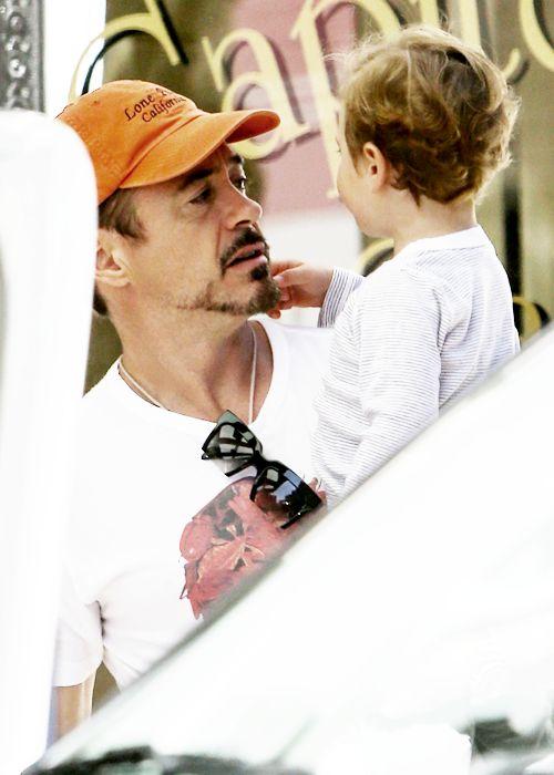 Robert & Exton in Nashville 5/6/2014   Robert Downey Jr.   Pinterest