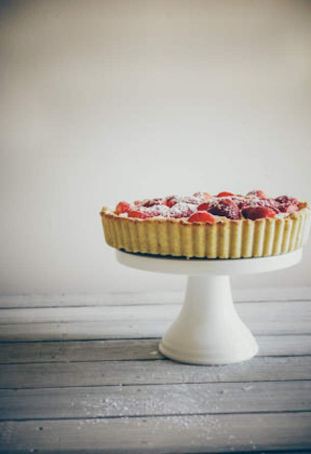 cream trifle strawberries and cream cake strawberries and cream tart ...