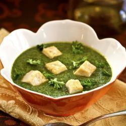 Kale saag with tofu paneer style! | mmmmmmm....food | Pinterest
