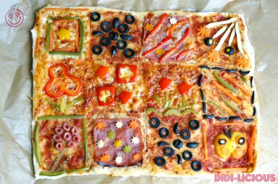 Quilt Pizza / Одеяло Пица | DiDi-licious Food | Pinterest