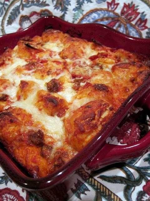 bubble up pizza casserole | Good Food! | Pinterest