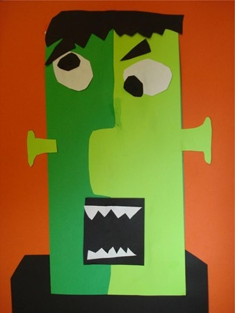 frankenstein projects Make: projects frankenstein a papier-mâché project  gather scrap wood, screws, wire, recycled newsprint, glue and a few other supplies and transform them into an 8-foot papier-mâché frankenstein.