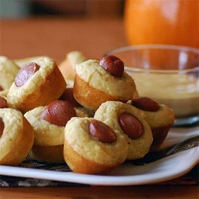 Corn Dog Muffins | Corey's GF/DF | Pinterest