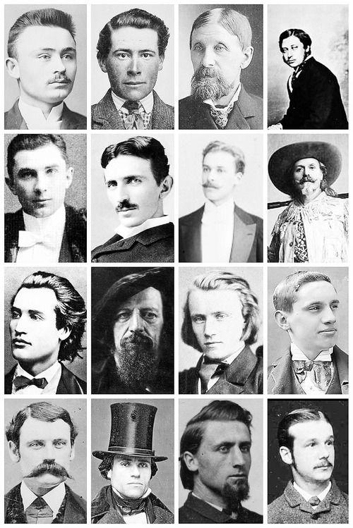Victorian men s hairstyles amp facial hair 5