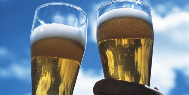 Drink two pints of beer will help you ace the test (but not getting hammered)