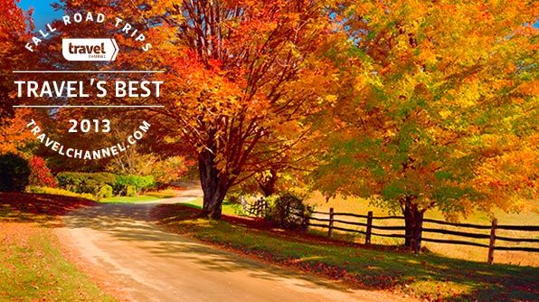 Travel's Best: Fall Foliage Road Trips