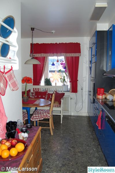 Cute kitchen in red white and blue kitchen ideas pinterest