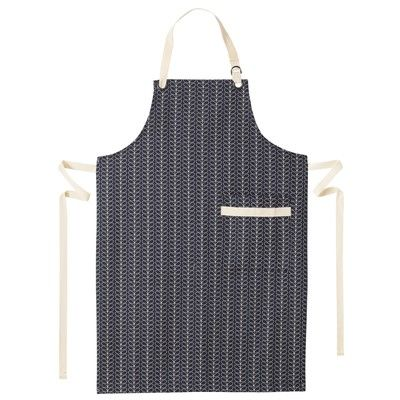 Apron For Kitchen : ... kiely: Linear Stem Kitchen Apron Home: Kitchen & Dining Pint
