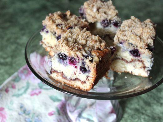 Old Fashioned Blueberry Coffeecake | breakfast | Pinterest