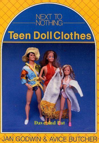 Sewing Crochet Pattern Sindy Barbie Skipper Ken Action Man Doll ...