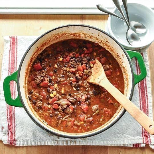... Homemade Chili, Yogurt-Covered Cranberries, Creamy Crawfish
