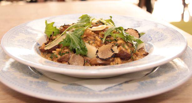 Mushroom risotto. | Recipes | Pinterest