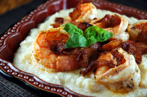 ... Strawberry Creek Inn (Recipe: Bacon-Topped Shrimp and Grits