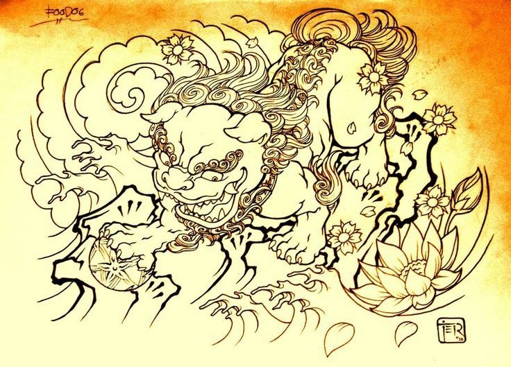my foo dog lion inspiration for my japanese art work tattoo getting hella excited 2 more. Black Bedroom Furniture Sets. Home Design Ideas