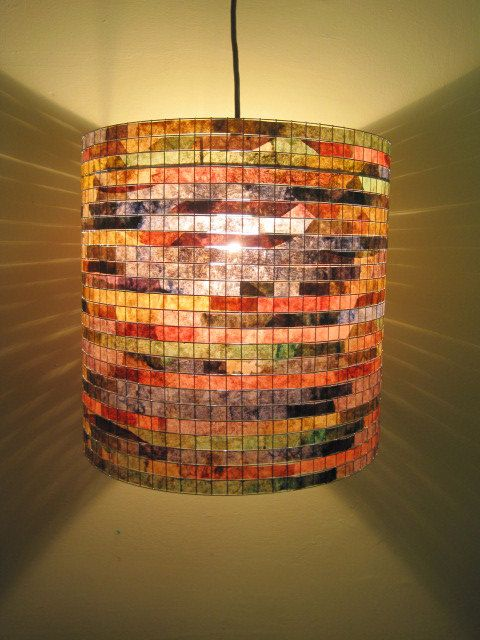 COFFEE FILTER ART - Lighting Lamp Lampshade