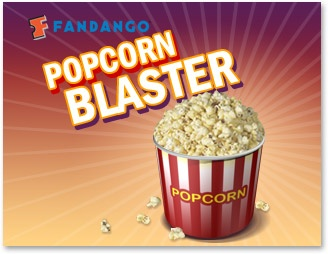 Popcorn Blaster Online Game from Fandango