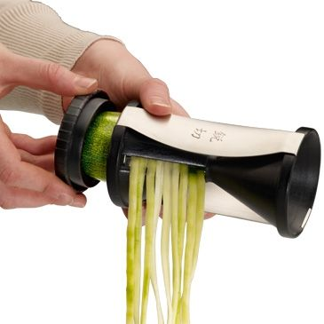 This handy gadget turns any veggie into spaghetti for roasting/baking etc. Great gift idea!