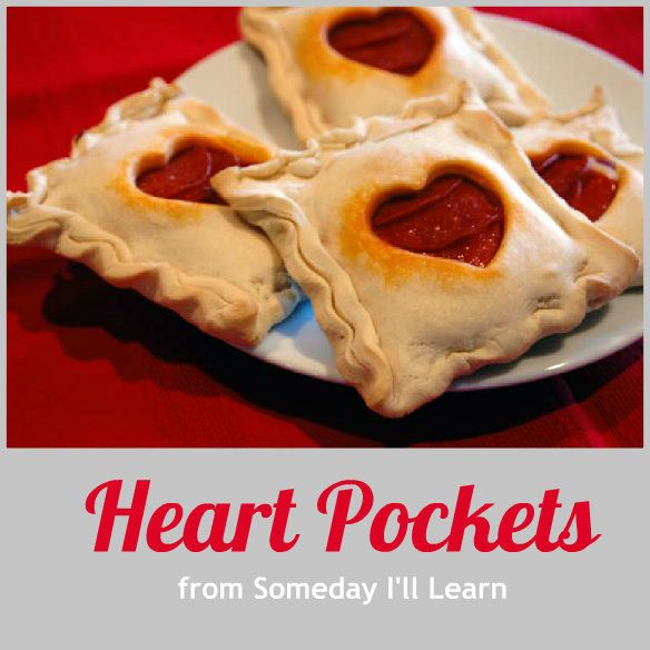 Pockets: Perfect for Valentine's Day~T~ Made with store bought pie ...