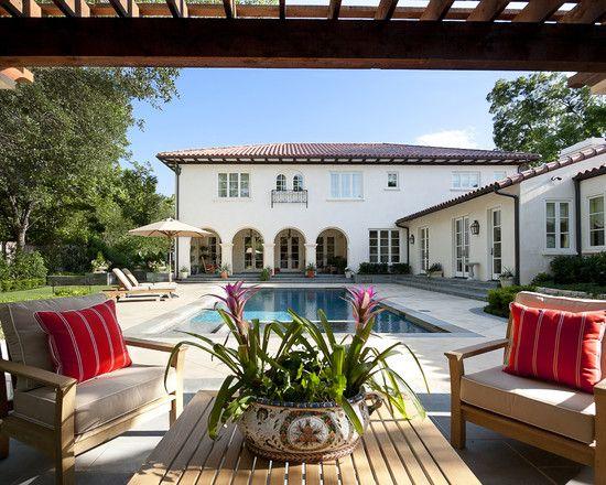 Patio spanish design house pinterest - Spanish style patio ideas ...