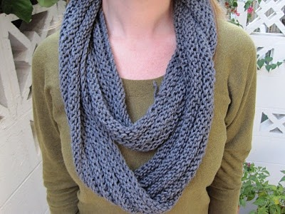 knit cowl with circular needles. Scarf/cowl of the Month Pinterest