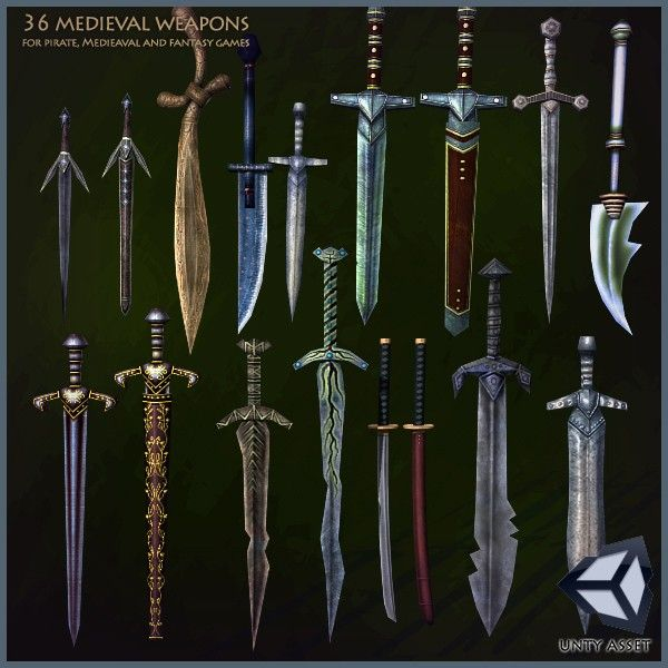 36 Medieval Weapons | Blades | Pinterest