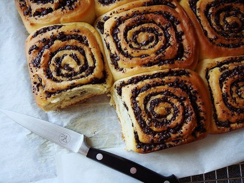 Chocolate Swirl Buns at Dessert By Candy | Their Dish & My Dish | Pin ...