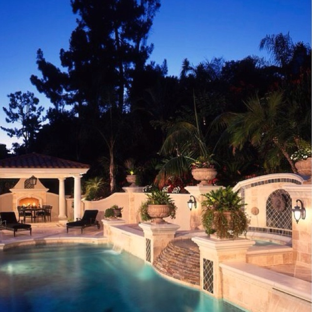 dream backyards for the home pinterest