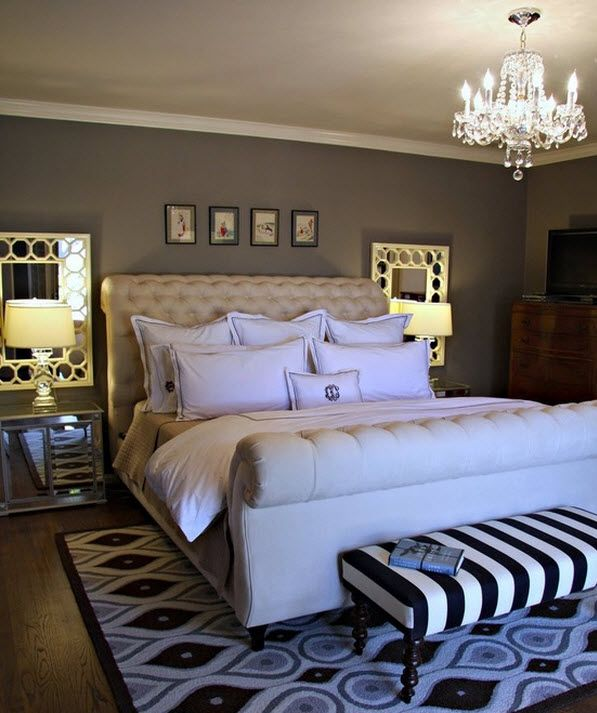 mirrors over nightstands decor amoure pinterest