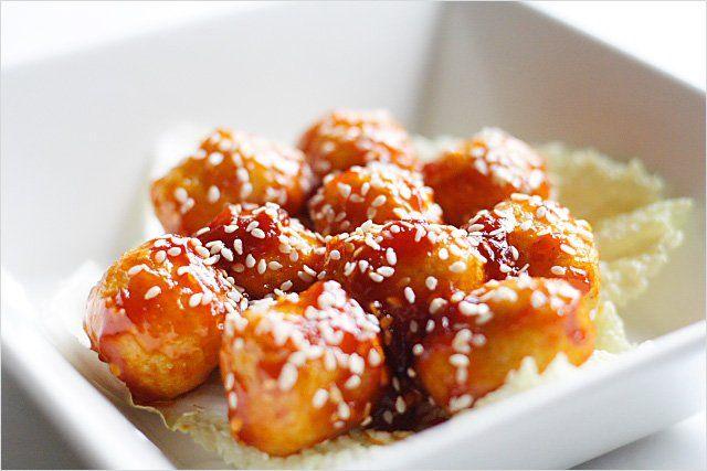 Sweet And Sour Fish Balls Recipe — Dishmaps