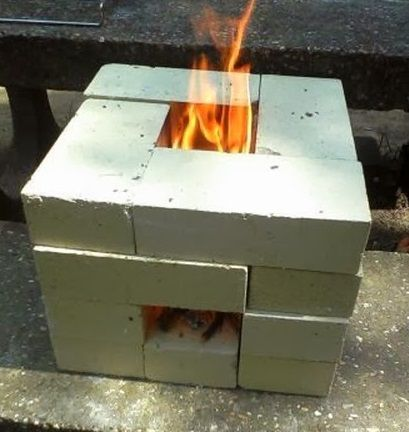 How To Make A 16 Brick Rocket Stove Miscellaneous
