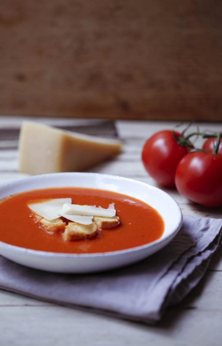 DustyLu: Simple tomato soup   Soups   Pinterest