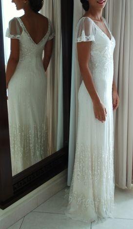 Robe de mariée Foxglove Jenny Packham / Blanc, blanc cassé, écru ...