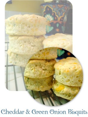 Cheddar and Green Onion Biscuits