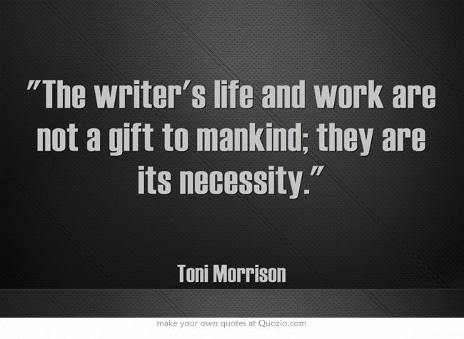 life and works of toni morrison The life and work of toni morrison toni morrison, a premier contemporary american novelist, chronicles the african-american experience morrison has written six novels and a collection of essays and lectures.