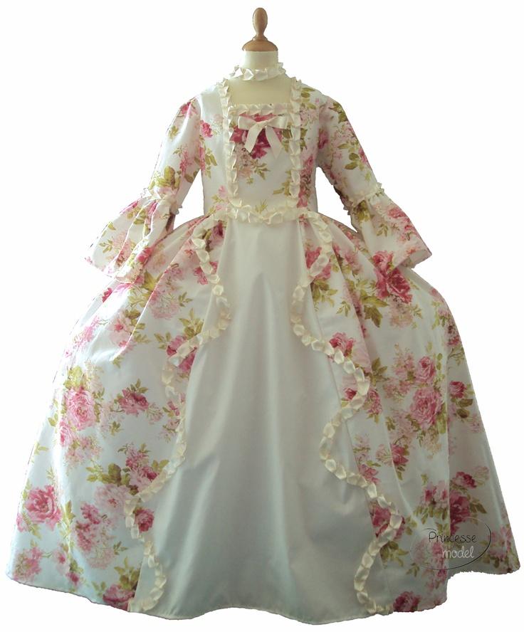 robe à paniers Marie-Antoinette création exclusive Princesse model
