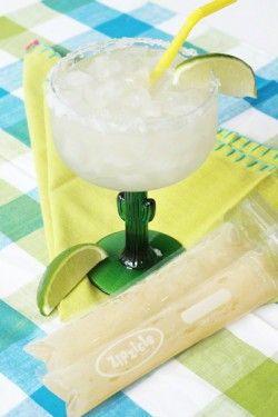 Margarita ice pop by www.zipzicles.com | Products I Love | Pinterest