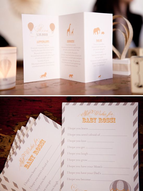 Vintage Circus Inspired Baby Shower