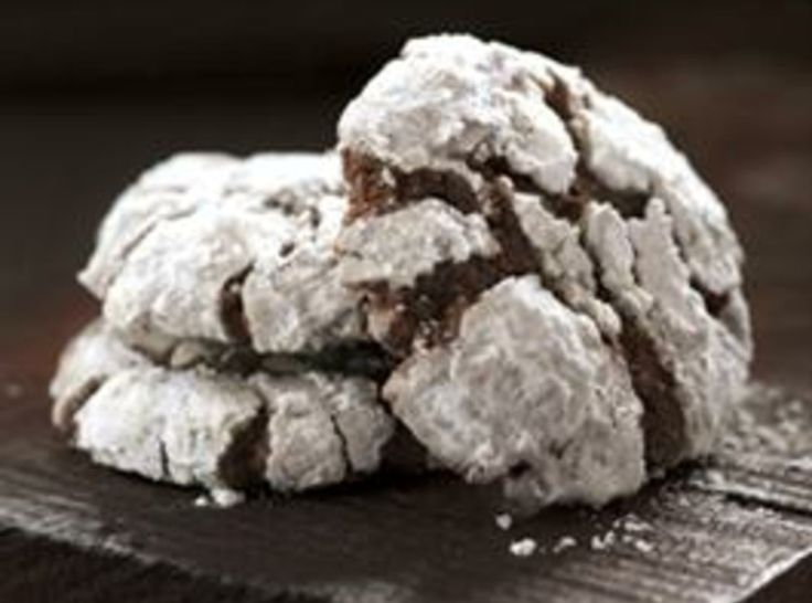Chocolate Crackled Cookies | Recipes I Want to Try | Pinterest