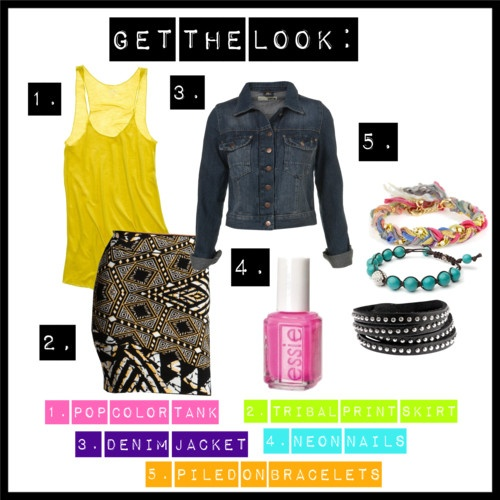 Get the Look: Tribal P...