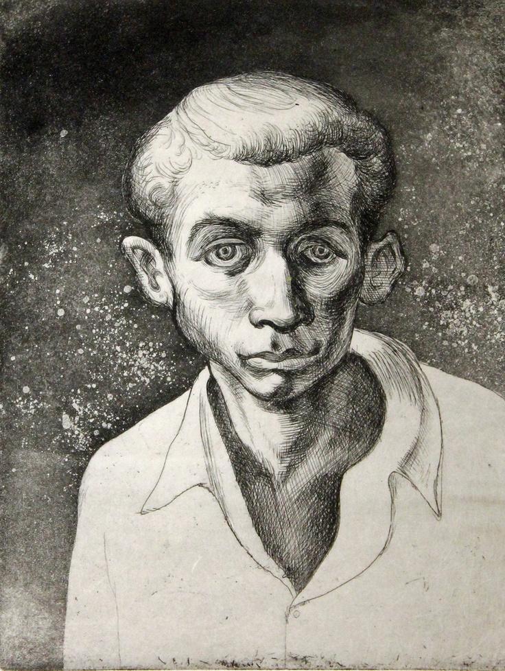 Bernard Perlin autoportrait
