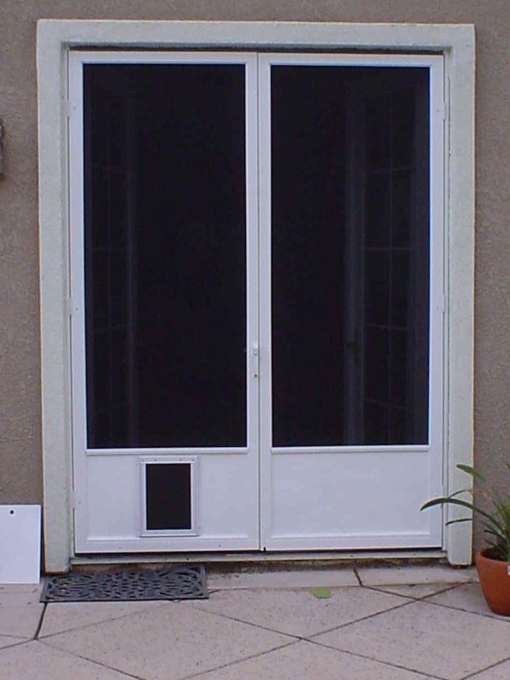 dog door for screen door puppy love pinterest