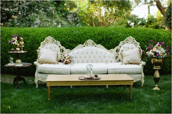 image - Wedding Furniture Rental - Sofa For Bride & Groom — The Knot