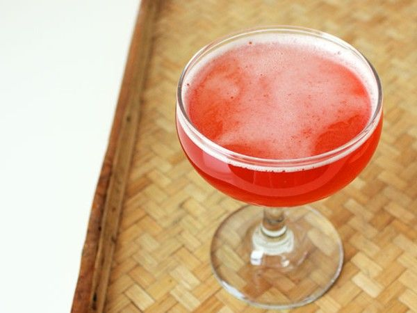 Rhubarb and rose from Serious Eats | Rhubarb Drinks | Pinterest