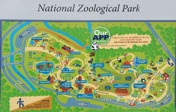 find dc listings national zoological park