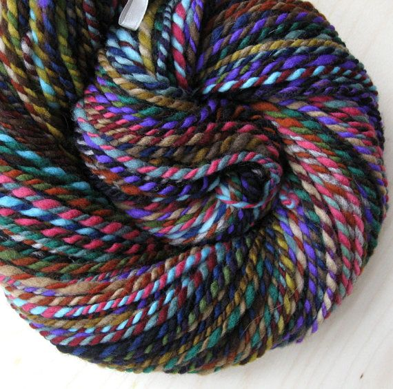 Hand spun yarn store on Etsy. Crochet Pinterest